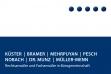 Küster | Bramer | Mehrpuyan | Pesch | Nobach | Dr. Munz | Müller-Menn Bonn